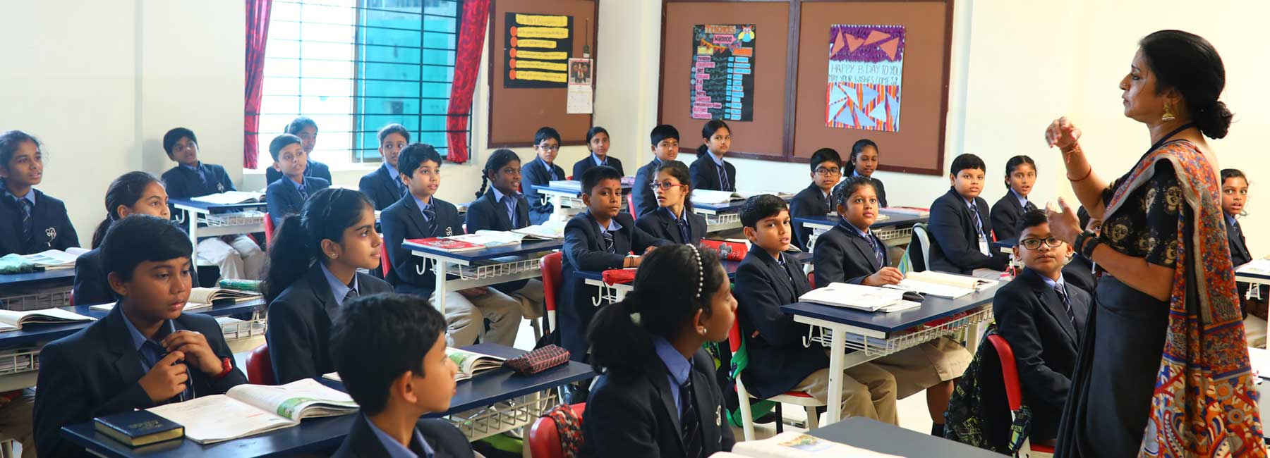 Top School in Bangalore, Sherwood High, Sherwood High Classrooms