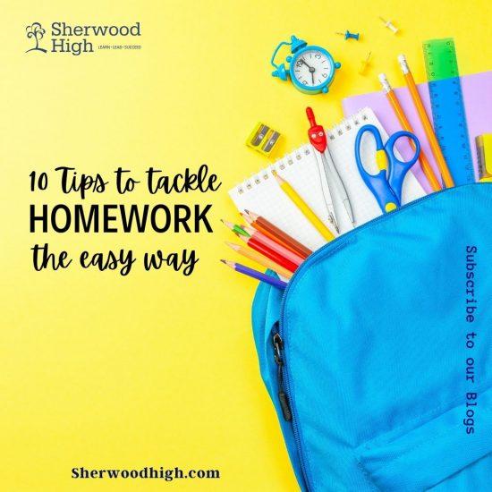 Tackling Homework Banner Image
